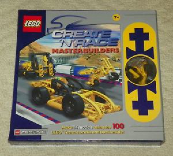3057 - Create 'n' Race - Master Builders (Masterbuilders)