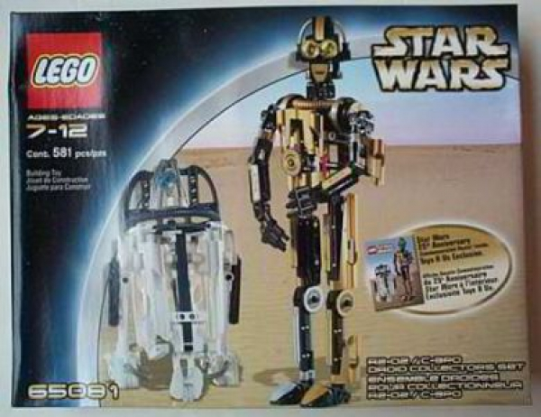 65081 - R2-D2 8009 / C-3PO 8007 Droid Collectors Set