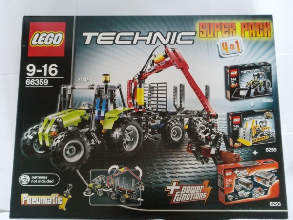 66359 - Technic Super Pack 4 in 1 (8049, 8259, 8260)