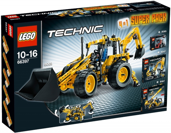 66397 - Technic Super Pack 4 in 1
