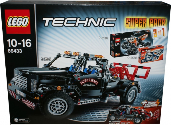 66433 - Technic Super Pack 3 in 1 (8293, 9392, 9395)