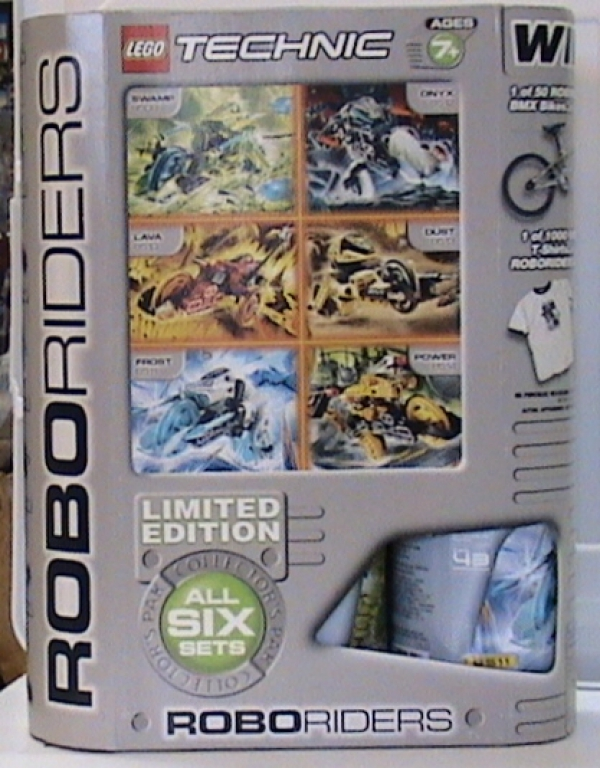 78675 - Exclusive RoboRiders Six Set Limited Edition