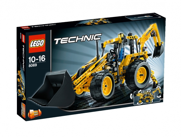 8069 - Backhoe Loader