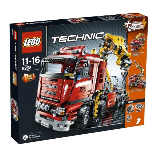 8258 - Crane Truck
