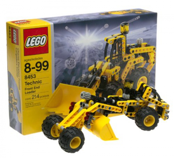 8453 - Front-End Loader, Black Box