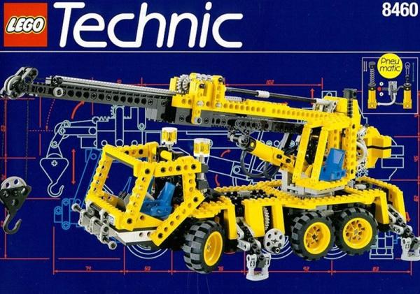 8460 - Pneumatic Crane Truck