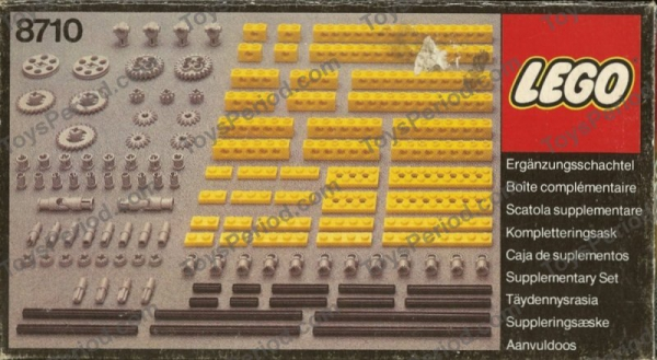 8710 - Expert Builder Parts Pack