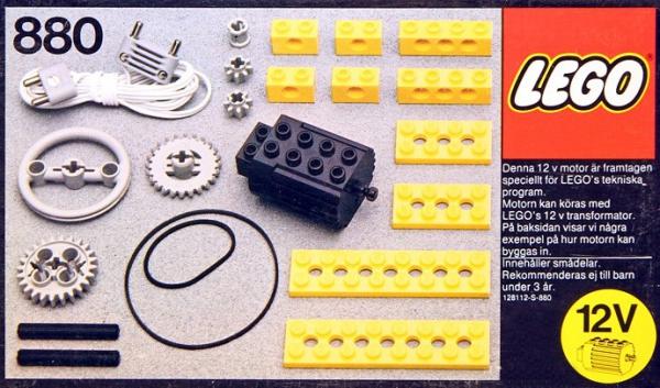 880 - 12V Motor
