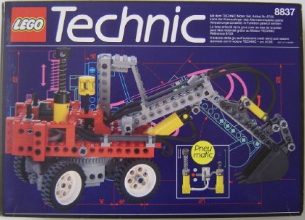 8837 - Pneumatic Excavator