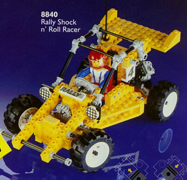 8840 - Rally Shock & Roll Racer