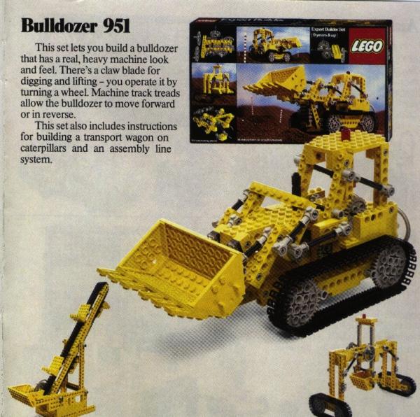951 - Bulldozer