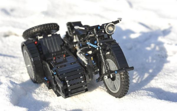 BMW R-12 motor cycle