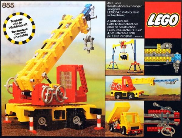 Lego Crane 855