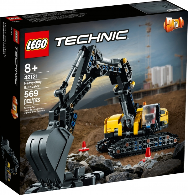 42121 - Heavy-Duty Excavator