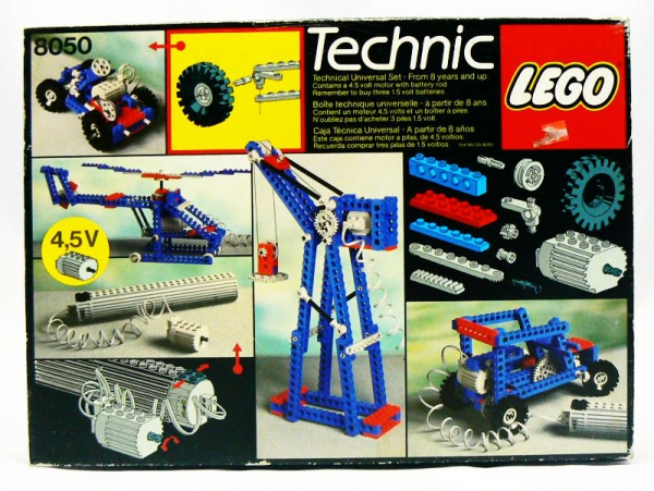8050 - Building Set with Motor