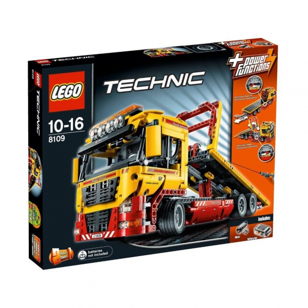 8109 - Flatbed Truck