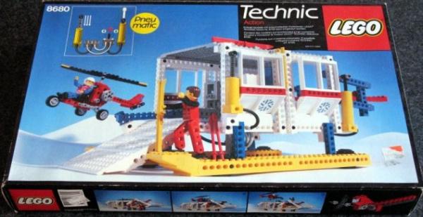 8680 - Arctic Rescue Base