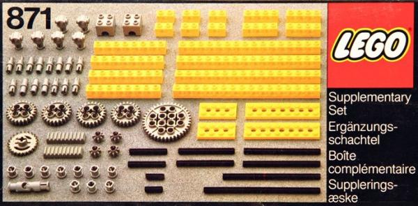 871 - Expert Builder/Gear Parts