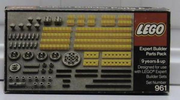 961 - Expert Builder/Gear Parts