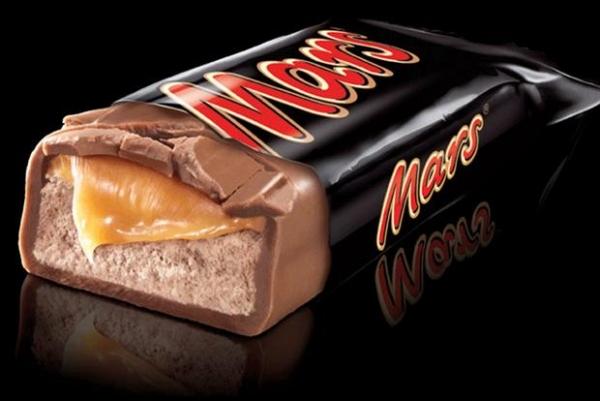 Mars Candy Bar - 50's Anniversary
